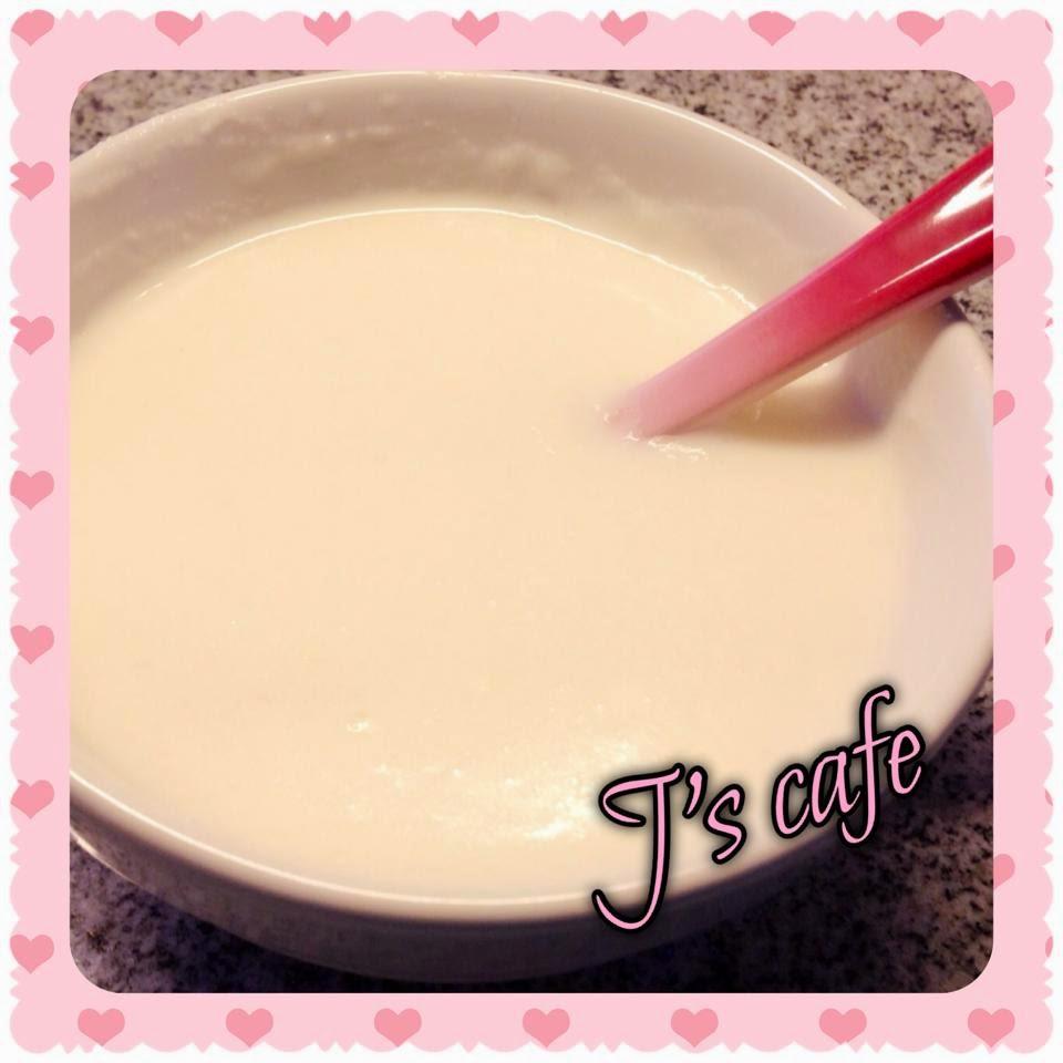 J's cafe 與我: 自家磨杏仁糊